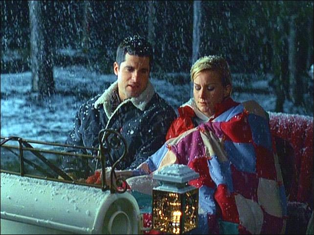 ed asner alice evens and john newton - Where Was The Christmas Card Filmed